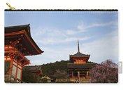 Kiyomizu-dera In Bloom Carry-all Pouch
