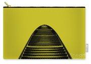 Kk100 Shenzhen Skyscraper Art Yellow Carry-all Pouch