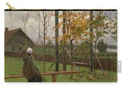 Klever, Yuli The Younger 1882-1942 Autumn Twilight Carry-all Pouch