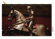 Knight And Horse In Armor Carry-all Pouch