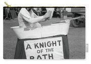 Knight Of The Bath Carry-all Pouch