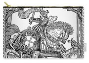 Knights: English, 1527 Carry-all Pouch