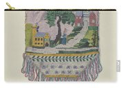 Knit Beaded Bag Carry-all Pouch