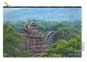 Knobels Wooden Roller Coaster  Carry-all Pouch