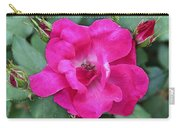 Knockout Rose Surrounded By Buds Carry-all Pouch