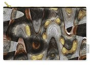 Knot In Old Board Abstract Carry-all Pouch