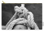 Knot On My Warf Iv Carry-all Pouch by Stephen Mitchell
