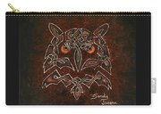 Knotty Owl Carry-all Pouch
