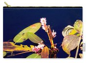 Knotweed On Deep Blue Carry-all Pouch