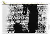 Knowing The Score Transparent Background Carry-all Pouch