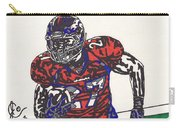 Knowshon Moreno 2 Carry-all Pouch by Jeremiah Colley