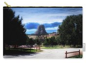 Koa Devils Tower Wyoming Carry-all Pouch