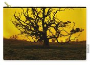 Koa Tree Silhouette Carry-all Pouch
