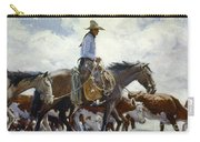 Koerner: Cowboy, 1920 Carry-all Pouch