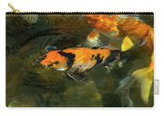 Koi Fish Blowing Bubbles Carry-all Pouch