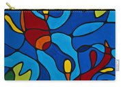 Koi Fish Carry-all Pouch by Sharon Cummings