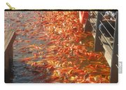 Koi Fishes In Feeding Frenzy Part Two Carry-all Pouch