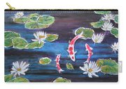 Koi In Lilly Pond Carry-all Pouch