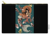 Koi Mermaid 2/4 Carry-all Pouch