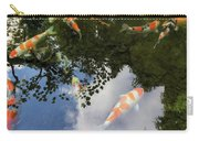 Koi Pond Reflection Carry-all Pouch