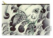 Koi Through The Water Carry-all Pouch