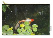 Koi With Lily Pads B Carry-all Pouch