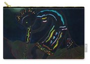 Kokopelli In Moonlight Carry-all Pouch
