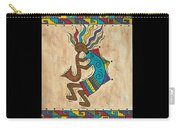 Kokopelli Sax Player Carry-all Pouch