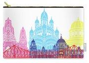 Kolkata Skyline Pop Carry-all Pouch