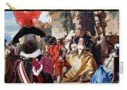 Komondor Art Canvas Print - The Carnival Dance Carry-all Pouch