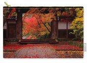 Komyoji Temple  Kyoto Japan Carry-all Pouch