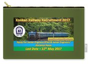 Konkan Railway Recruitment Carry-all Pouch