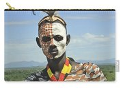 Konso Tribe Man Carry-all Pouch
