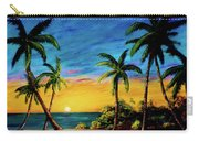 Ko'olina Sunset On The West Side Of Oahu Hawaii #299 Carry-all Pouch