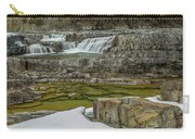 Kootenai Falls In Winter Carry-all Pouch