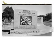 Korea The Forgotten War  Carry-all Pouch