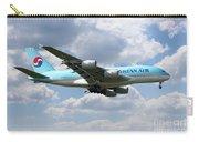 Korean Air Airbus A380 Carry-all Pouch