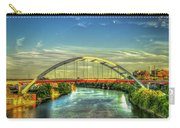 Korean Veterans Memorial Bridge 2 Nashville Tennessee Sunset Art Carry-all Pouch