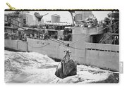 Korean War: Navy Mailbag Carry-all Pouch