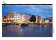 Krakow Main Square By Night Carry-all Pouch