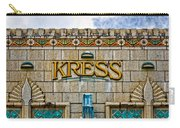 Kress Building Detail Carry-all Pouch