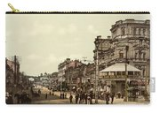 Krestchatik Street In Kiev - Ukraine - Ca 1900 Carry-all Pouch