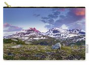 Crimson Peaks Carry-all Pouch by Dmytro Korol