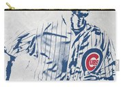 kris bryant CHICAGO CUBS PIXEL ART 2 Carry-all Pouch