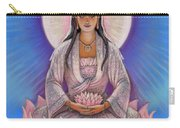 Kuan Yin Carry-all Pouch by Sue Halstenberg