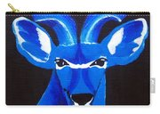 Kudu Blue Carry-all Pouch