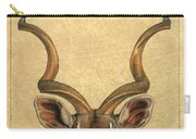 Kudu Carry-all Pouch by James W Johnson