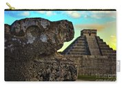 Kukulkan Pyramid At Chichen Itza In The Yucatan Of Mexico Carry-all Pouch
