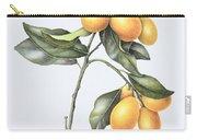 Kumquat Carry-all Pouch by Margaret Ann Eden