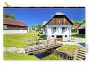 Kumrovec Picturesque Village In Zagorje Region Of Croatia Carry-all Pouch